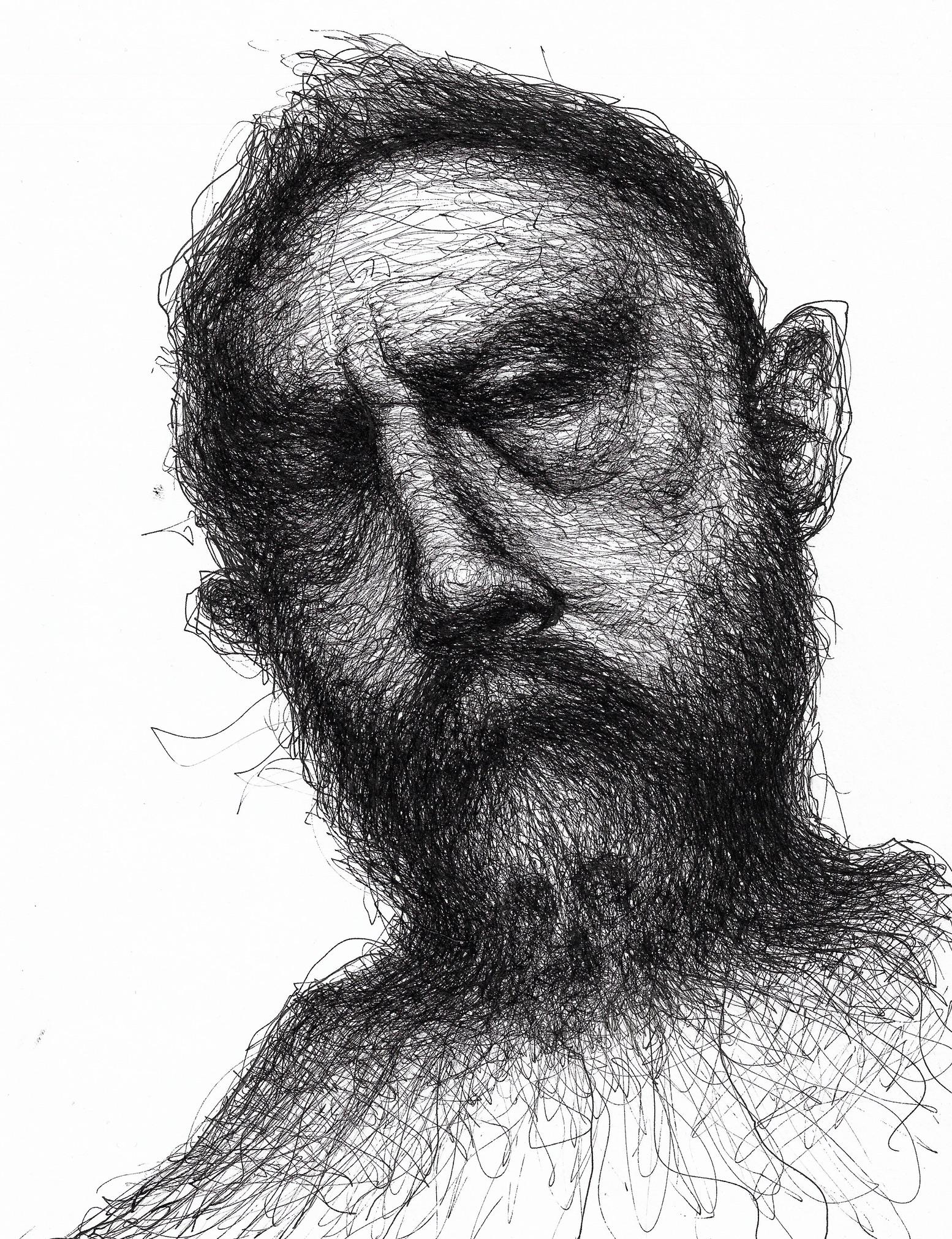 Self Portrait, 2017 |Pen on paper |29.7 x 21 cm