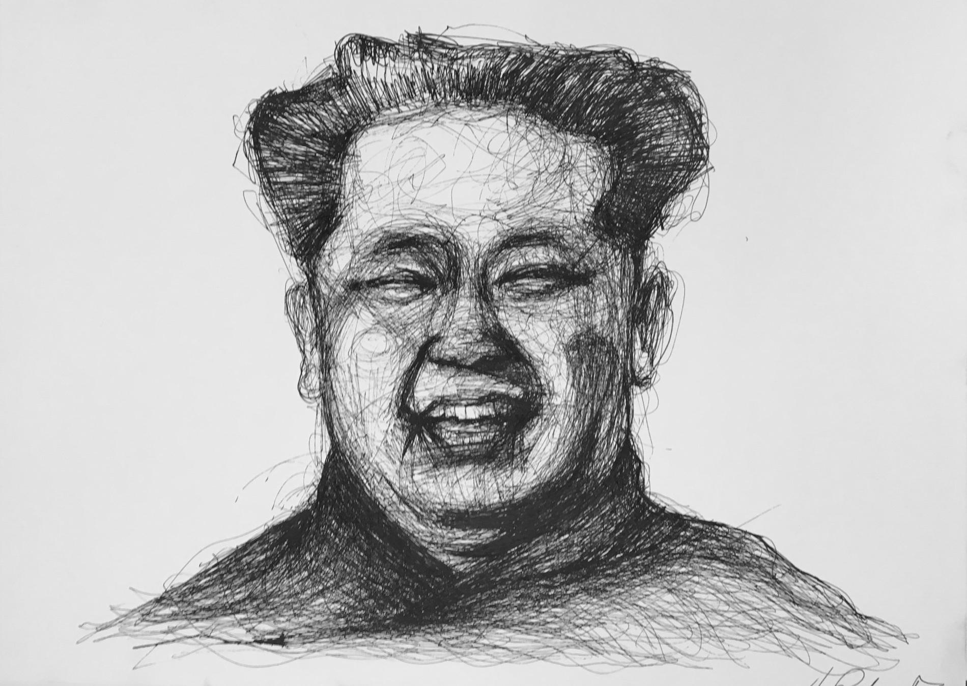 Lil' Kim, 2017 |Pen on paper |29.7 x 41.3 cm