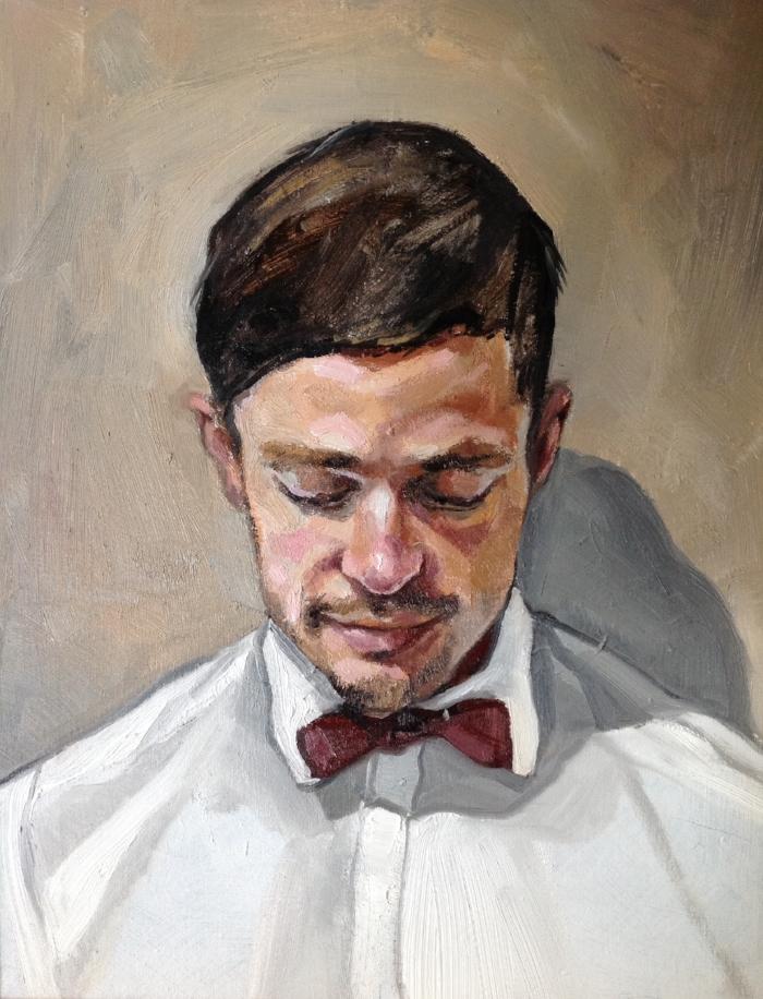 Head Study, 2015  | Oil on canvas |49 x 61 cm | £800