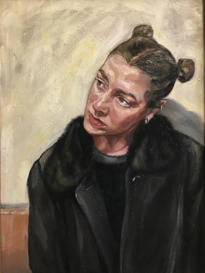 Self Portrait, 2015  | Oil on canvas | 81 x 61 cm | £800