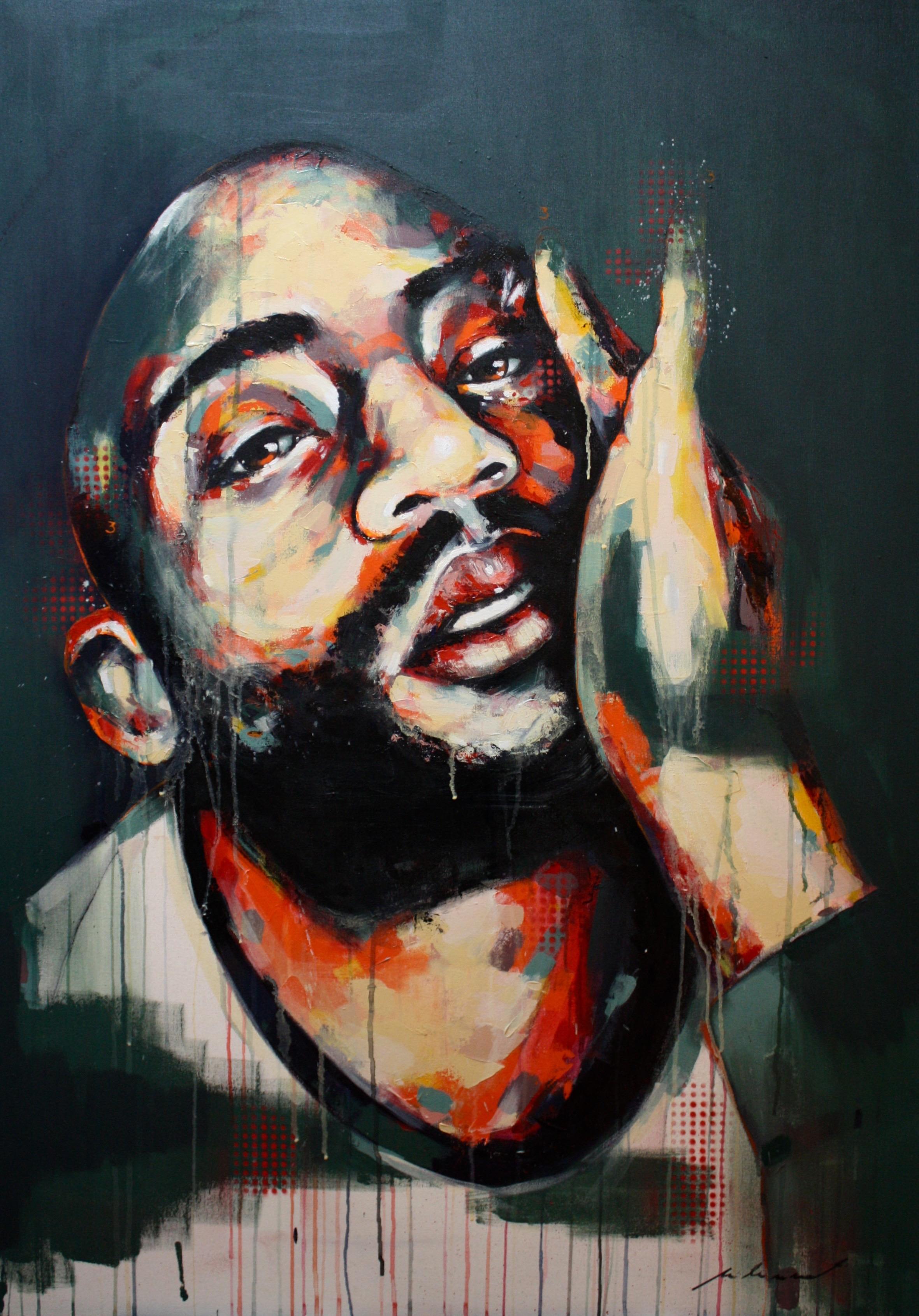 Jeremy, 2017   Acrylic on Canvas   90 x 130 cm
