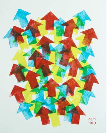 3, 2017  Tinta de carimbo sobre papel   33.5 x 38.5 cm   R$ 350