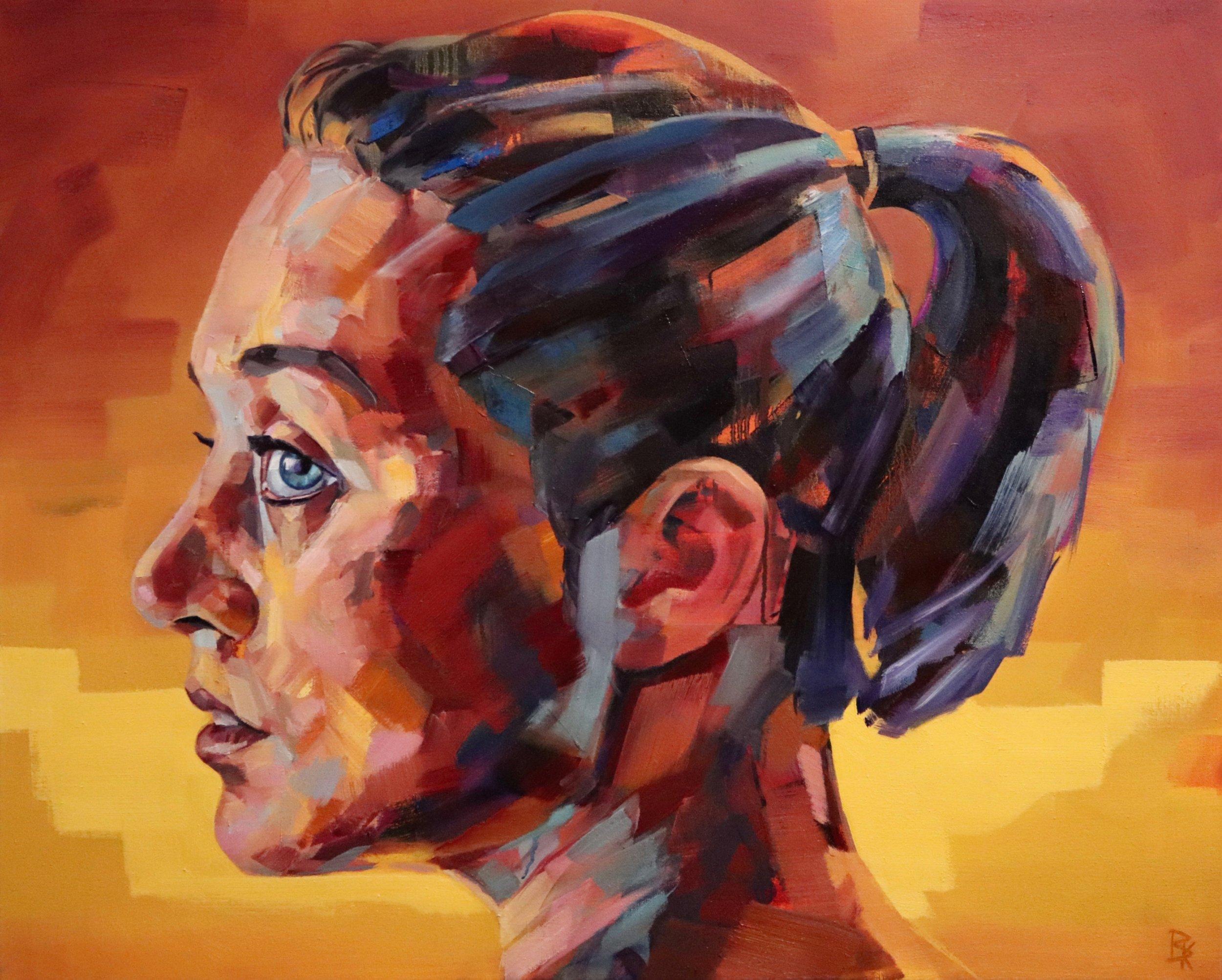 Distinct, 2018 | Oil on canvas | 80 x 100 cm | £1,800