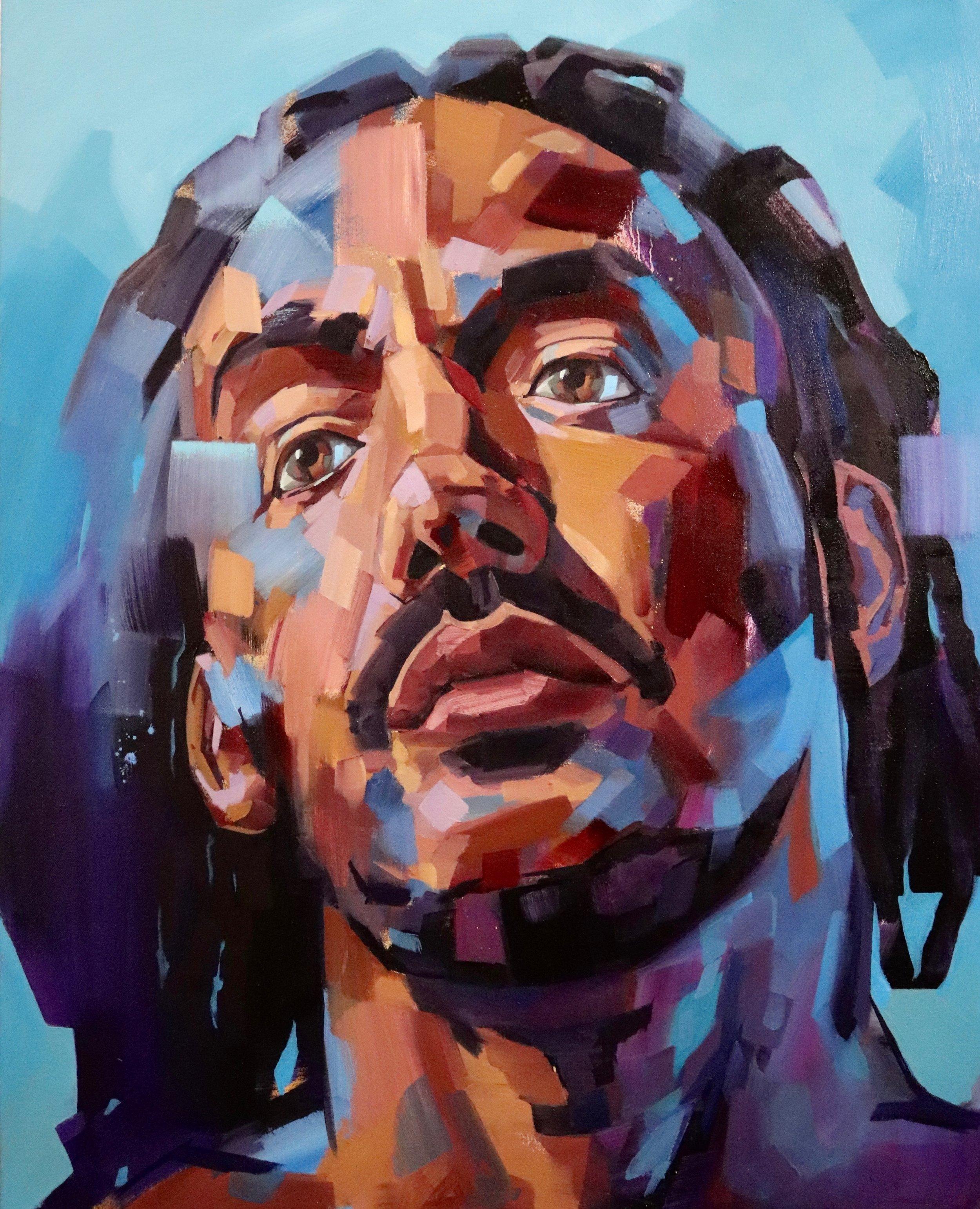 Family Man, 2018 | Oil on canvas | 80 x 100 cm | £1,800