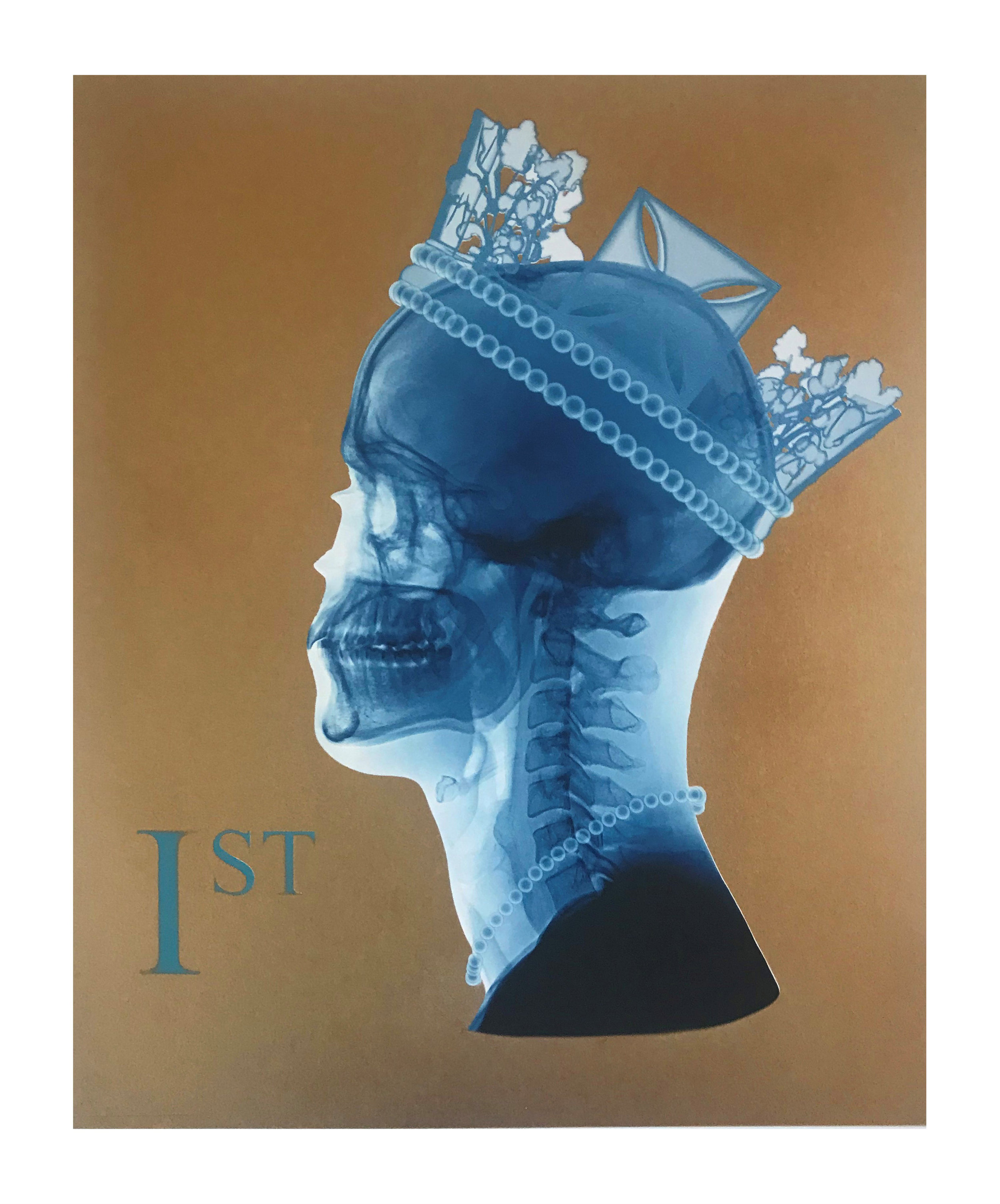 First Lady, 2018 | Giclee print with spray paint edition of 25 | 48 x 42 cm | £395