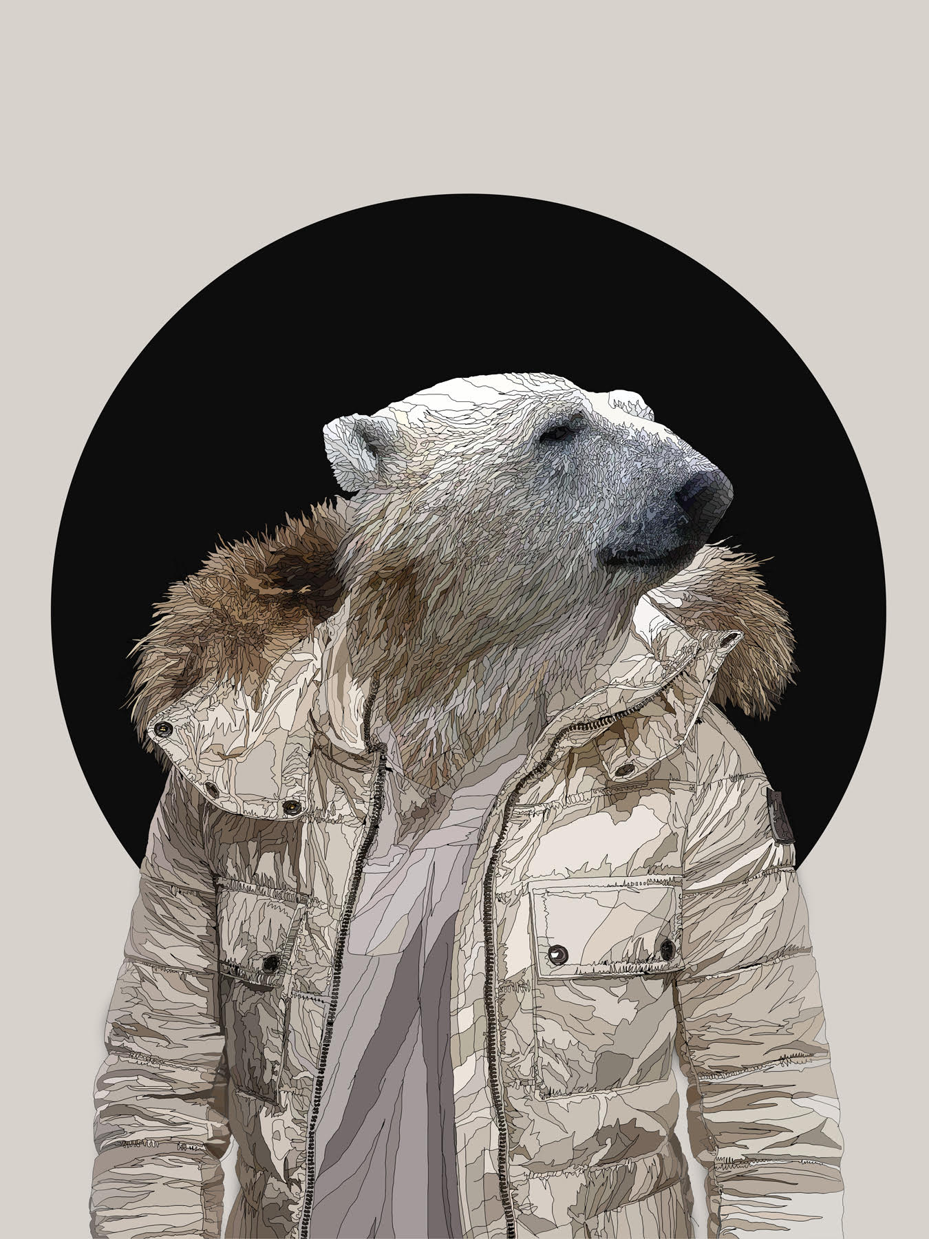 Stay Cool, 2017 | Digital print on perspex | 60 x 80 cm | £850