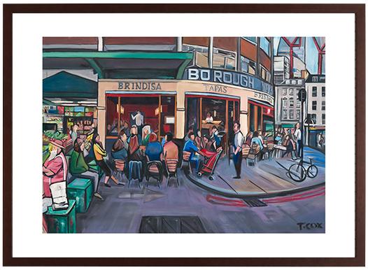 Brindisa, 2018 | Giclee print | Limited Edition of 12 | £250 framed/ £200 unframed