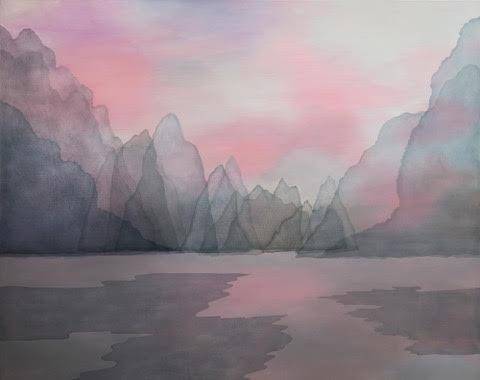 Perfumed Sky, 2018 | Oil on wood | 80 x 100 cm | £2,900
