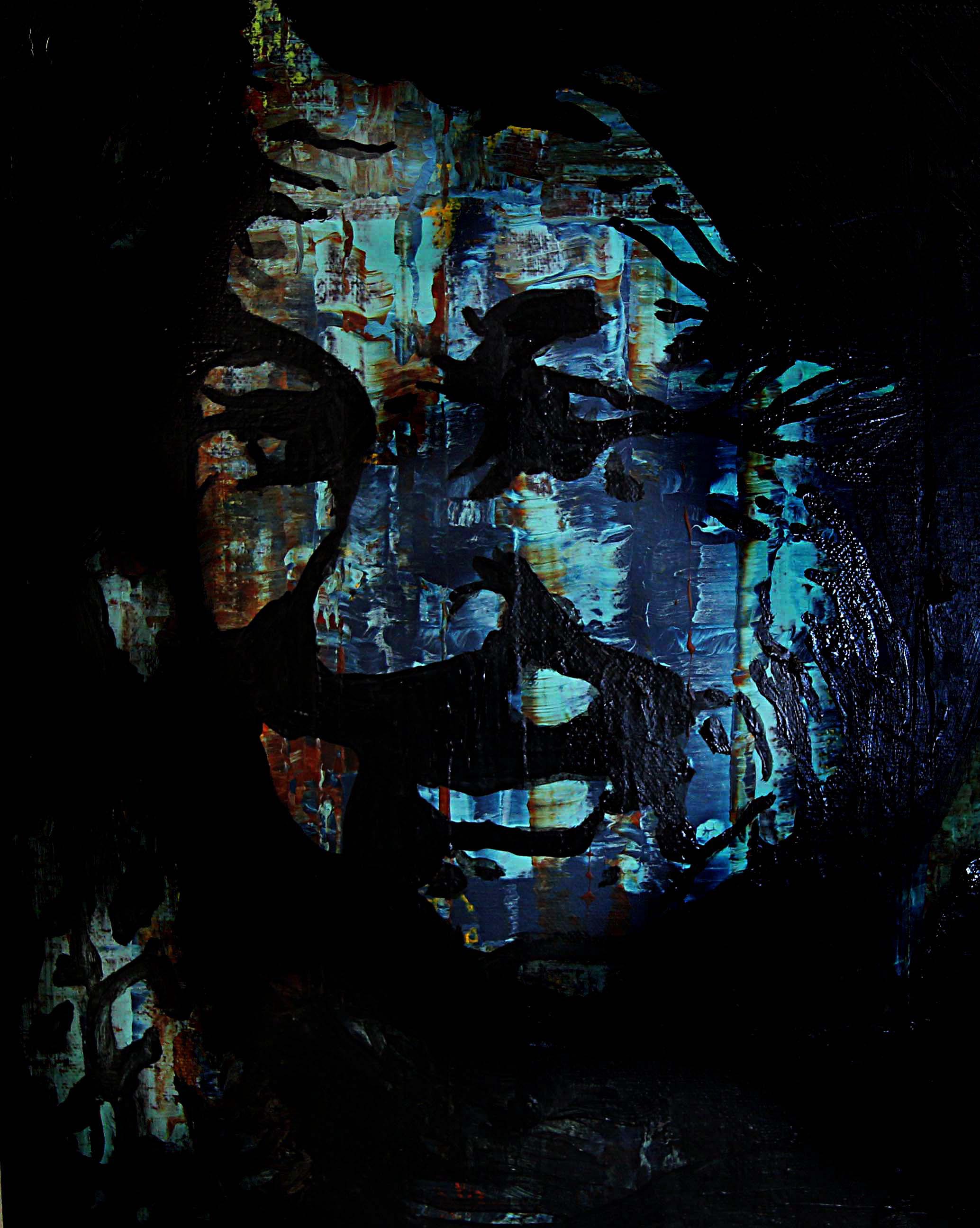 Old Soul 2018 | Acrylic on canvas | 40 x 30 cm | £220