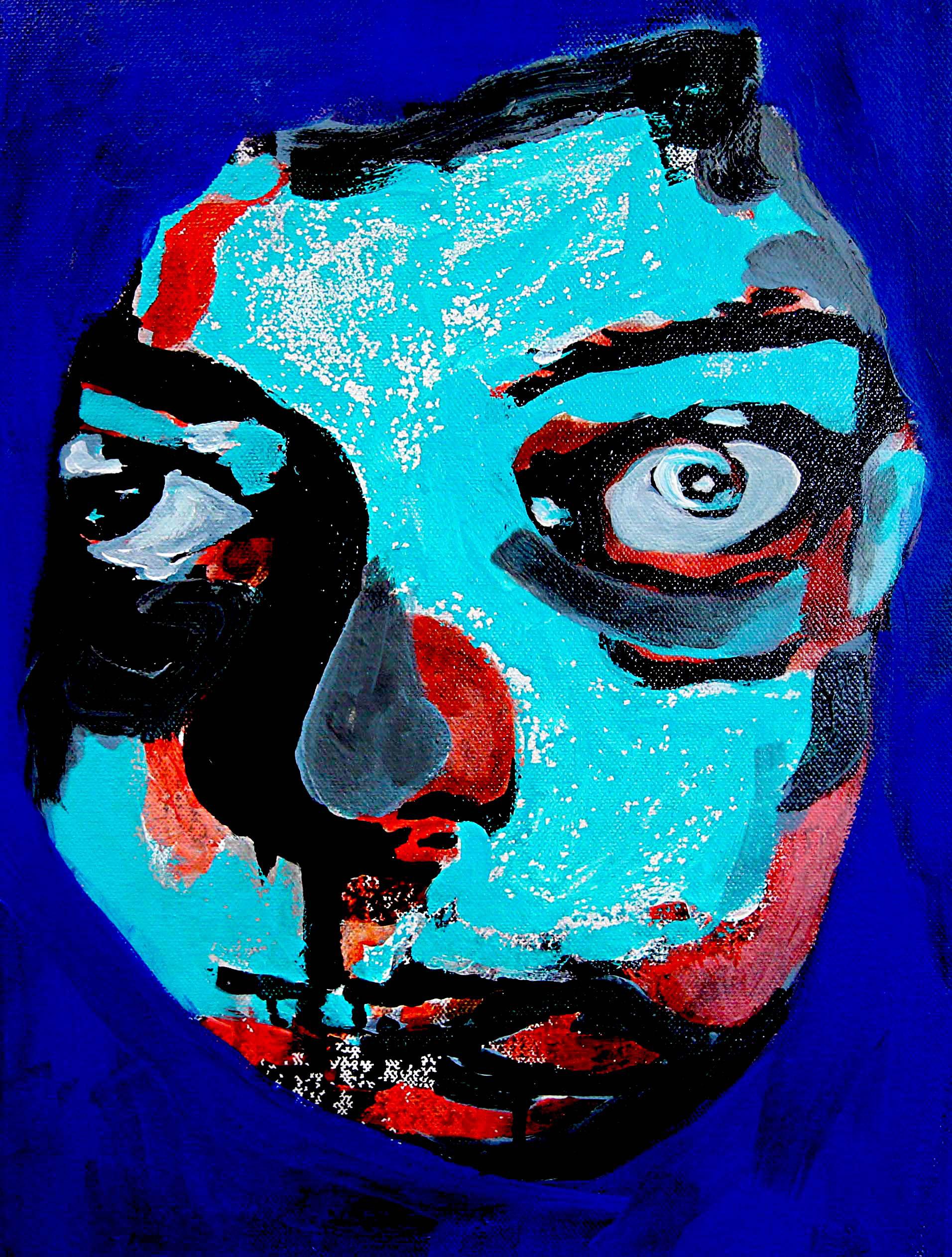 Kadan 2018 | Acrylic on canvas | 40 x 30 cm | £220
