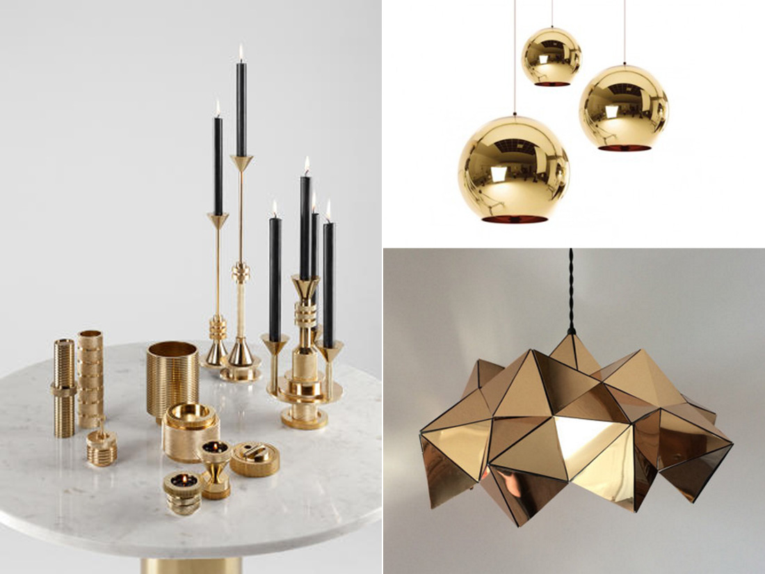 Tom Dixon and Britta Gould lights