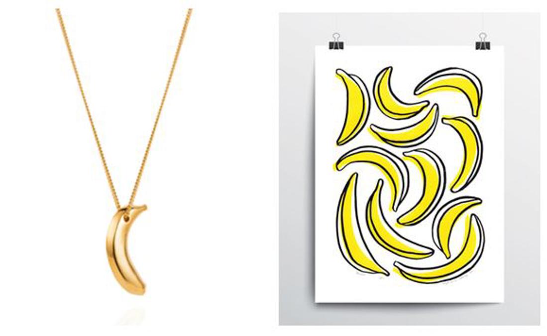 banana necklace lee renee