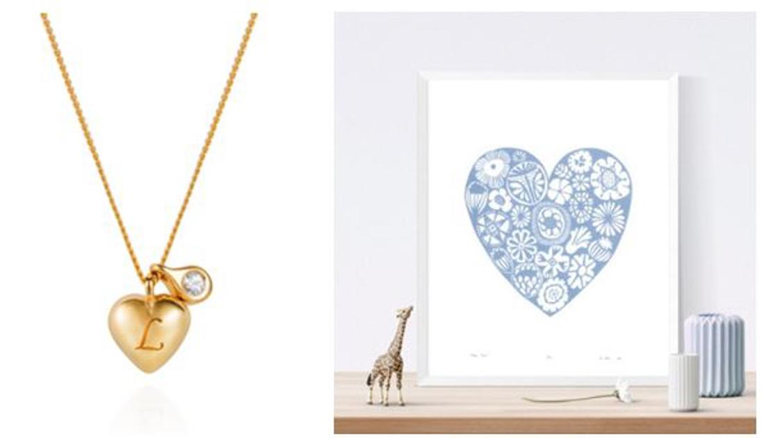 Heart necklace Lee Renee