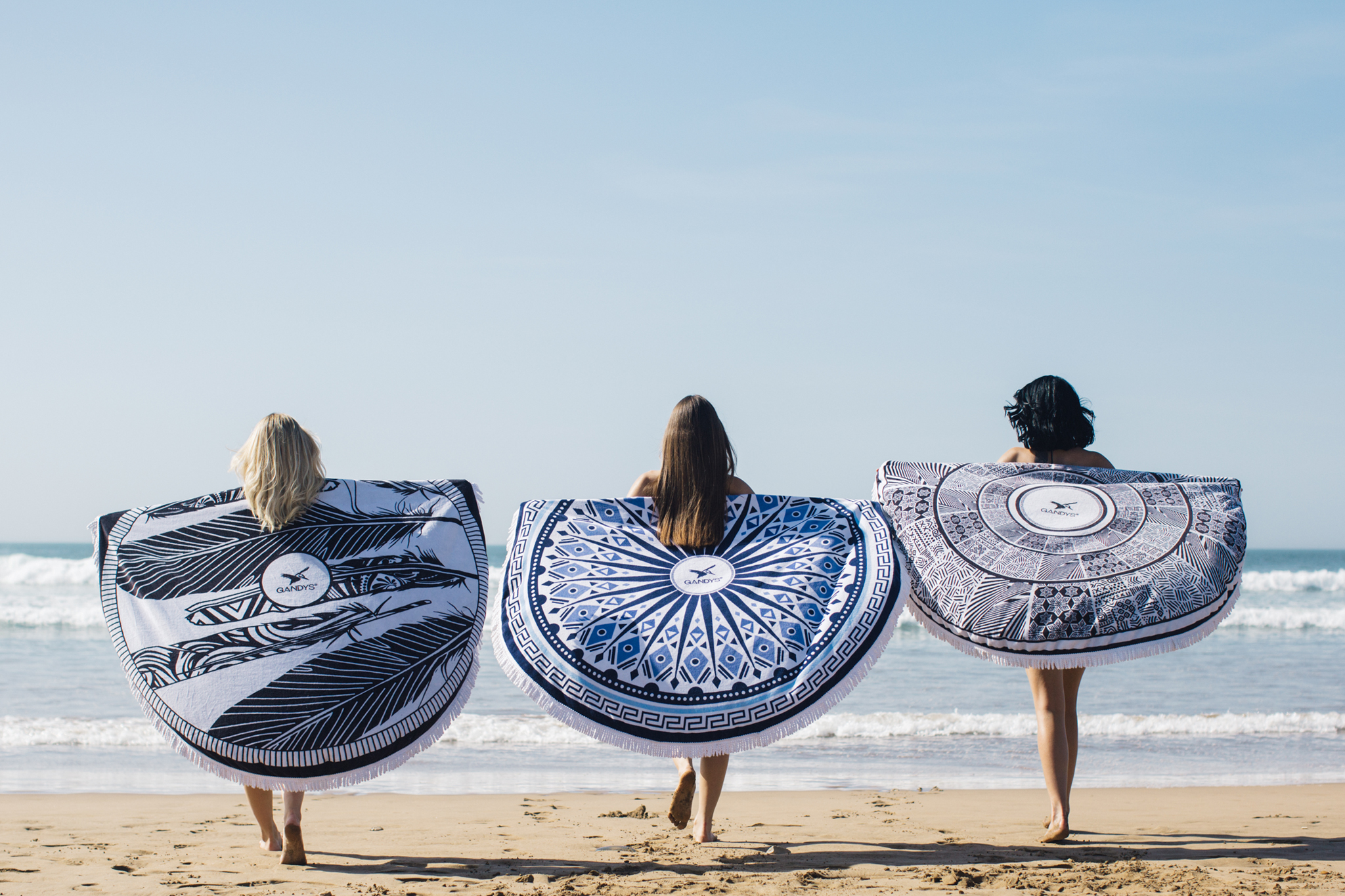 Gandy's Round Towels Sustainable Products