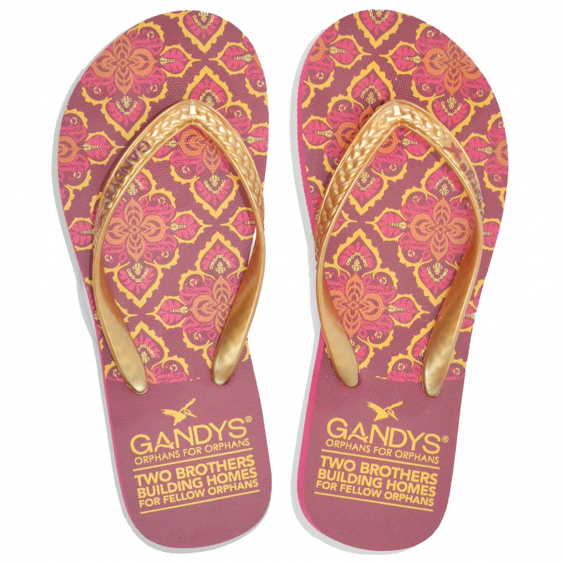 Gandy's Marrakesh Print Flip Flops Sustainable Products