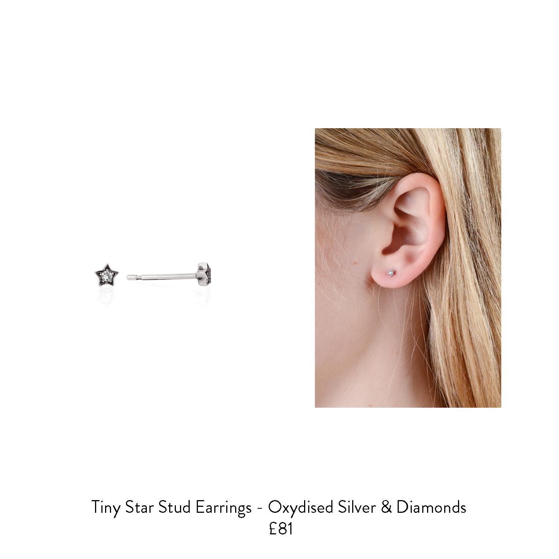 april birthstone gift ideas for her diamond star earrings