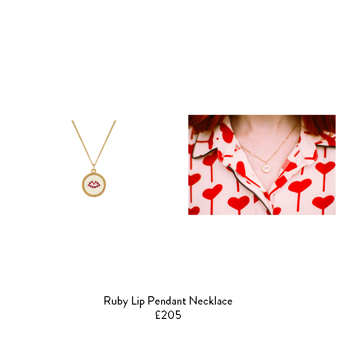 july birthstone gidt ideas for her ruby gold necklace
