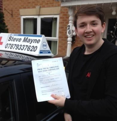 Harry passed his test.jpg