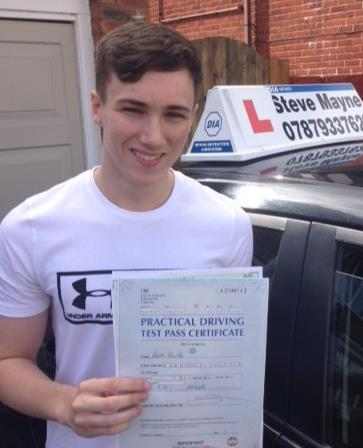 Adam passed his test.jpg