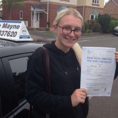 Eleanor passed her test.jpg