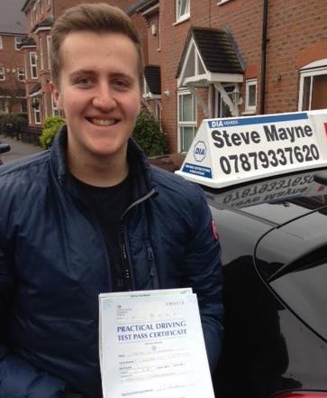 Lucas passed his driving test.JPG