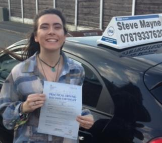 Sophie passed her driving test.jpg