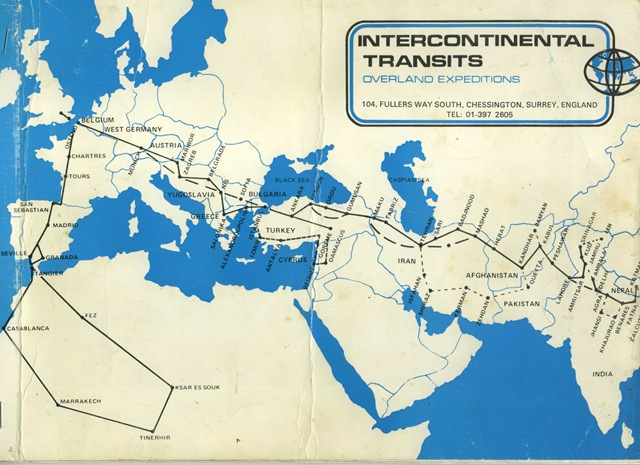 Overland Routes