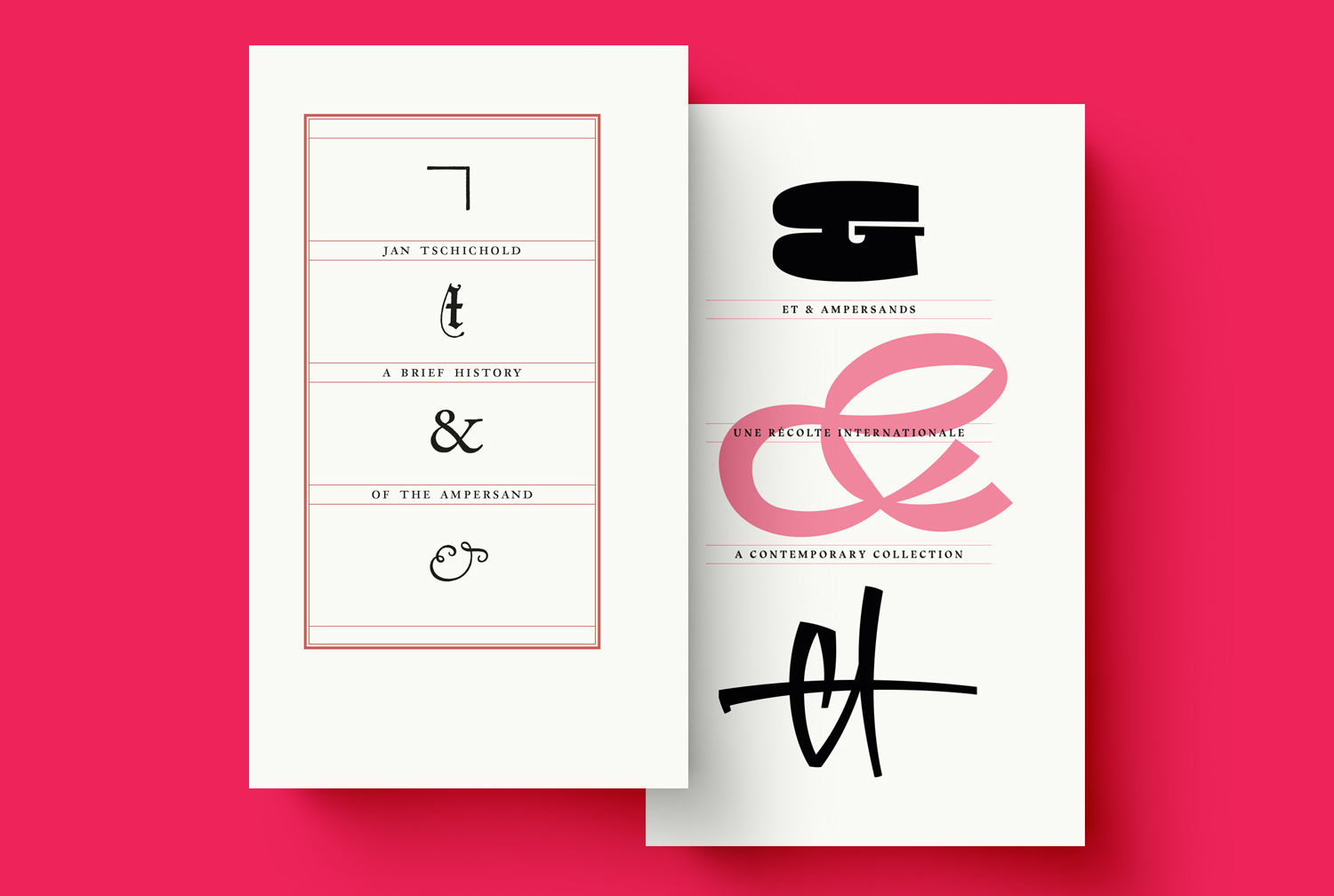 Pack : A Brief History of the Ampersand + Et & Ampersands