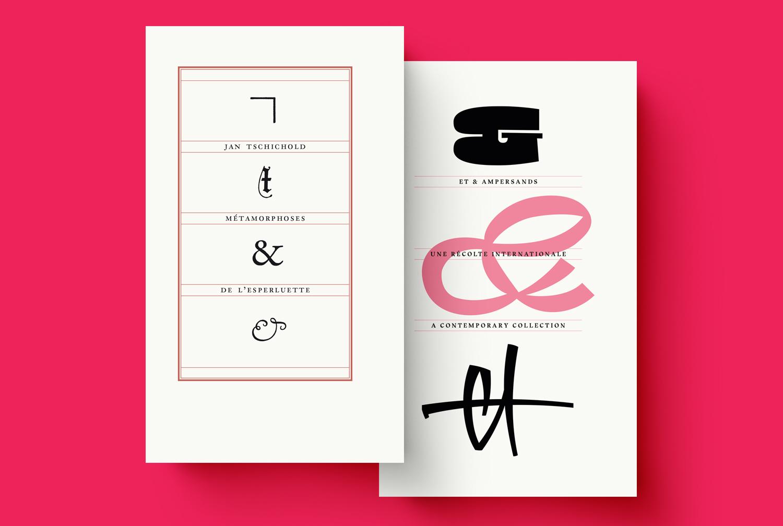 Pack : Métamorphoses de l'esperluette + Et & Ampersands