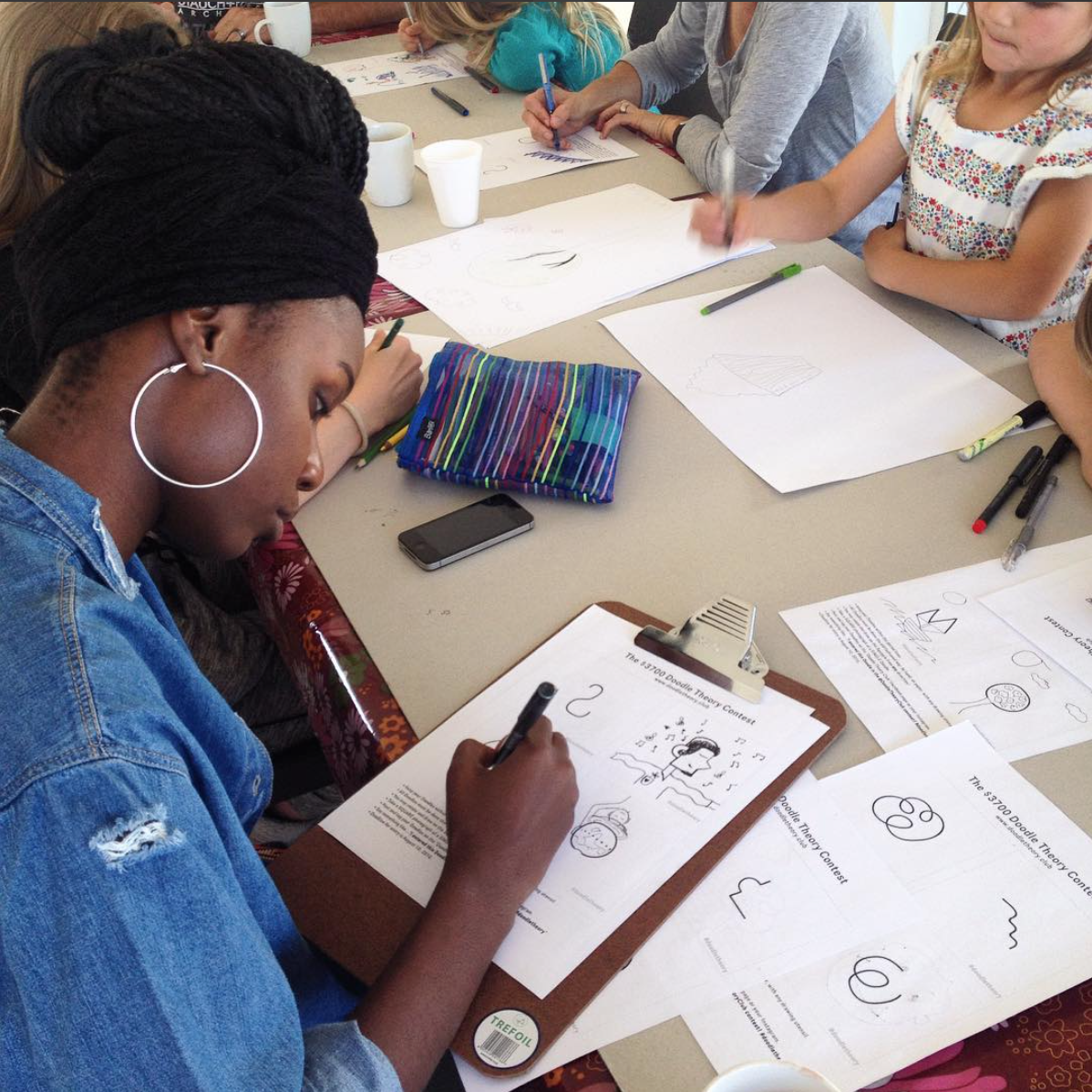 Turipamwe Design , a design studio in Namibia, hosted a event called  The Doodle Sessions.   Bringing creative locals together to draw!