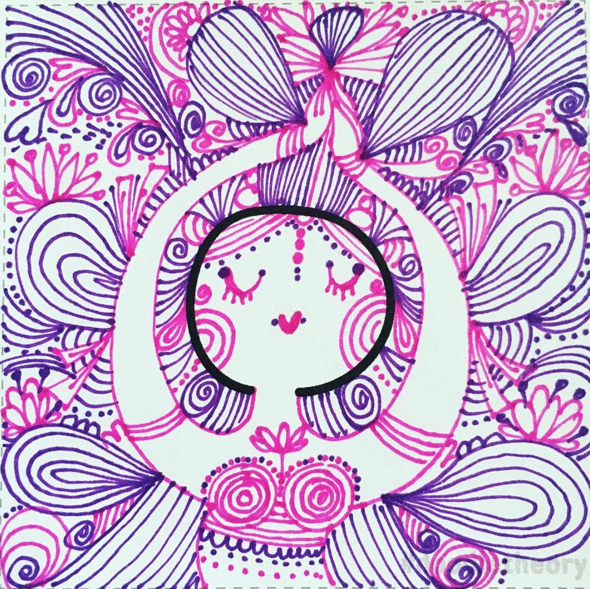 Drawn by Nivea Ortiz from San Juan, Puerto Rico. Instagram:  @nivea_ortiz
