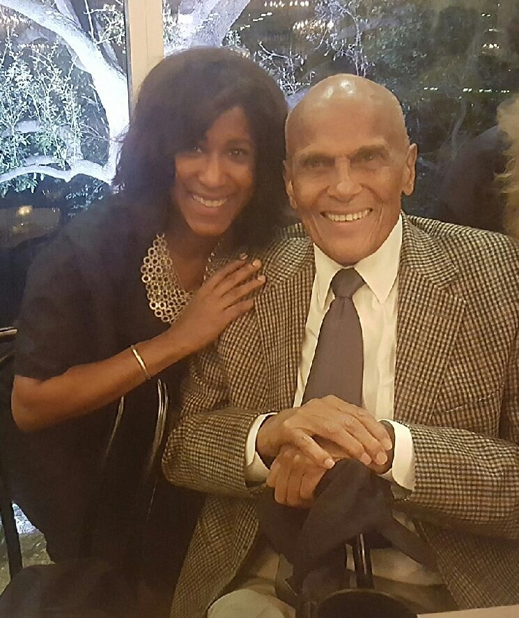 I've talked with many celebrities during my career, but interviewing a legend like Harry Belafonte was one of the most incredible experienced. And he loved my article and told me to keep up the good work. I nearly died.  He turns 90 March 1.  #harrybelafonte   #yearofjoy