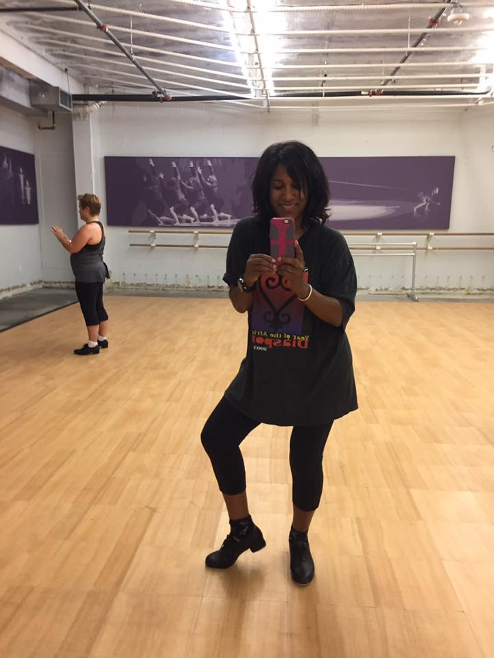 I promised myself when I started my #YearOfJoy journey that I would try the things that I've wanted to do for a long time. Tap dancing is one of them. So today, I took my very first tap dance class. And it was awesome.