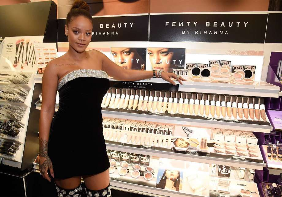 Only Rihanna could do what no other beauty brand has been able to do - appealto all women of color.   More