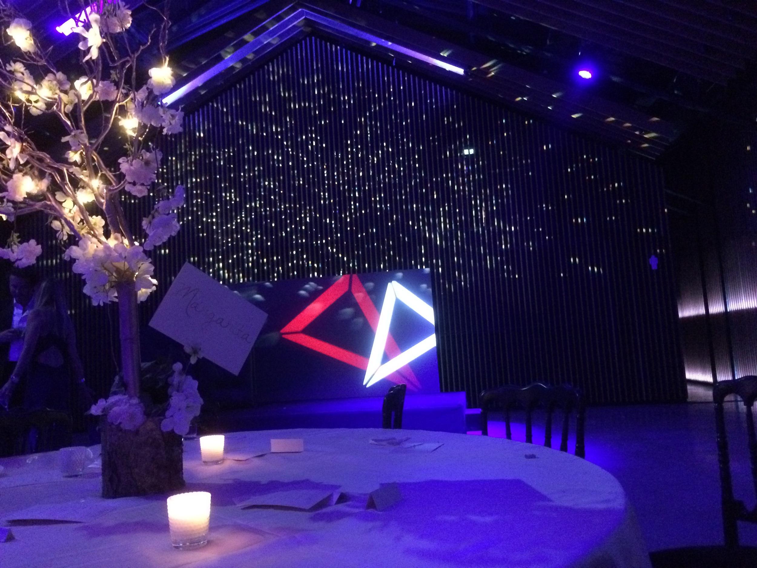23 Juin 2016 mise en place de l'installation technique son & lumière pour un Set DJ live