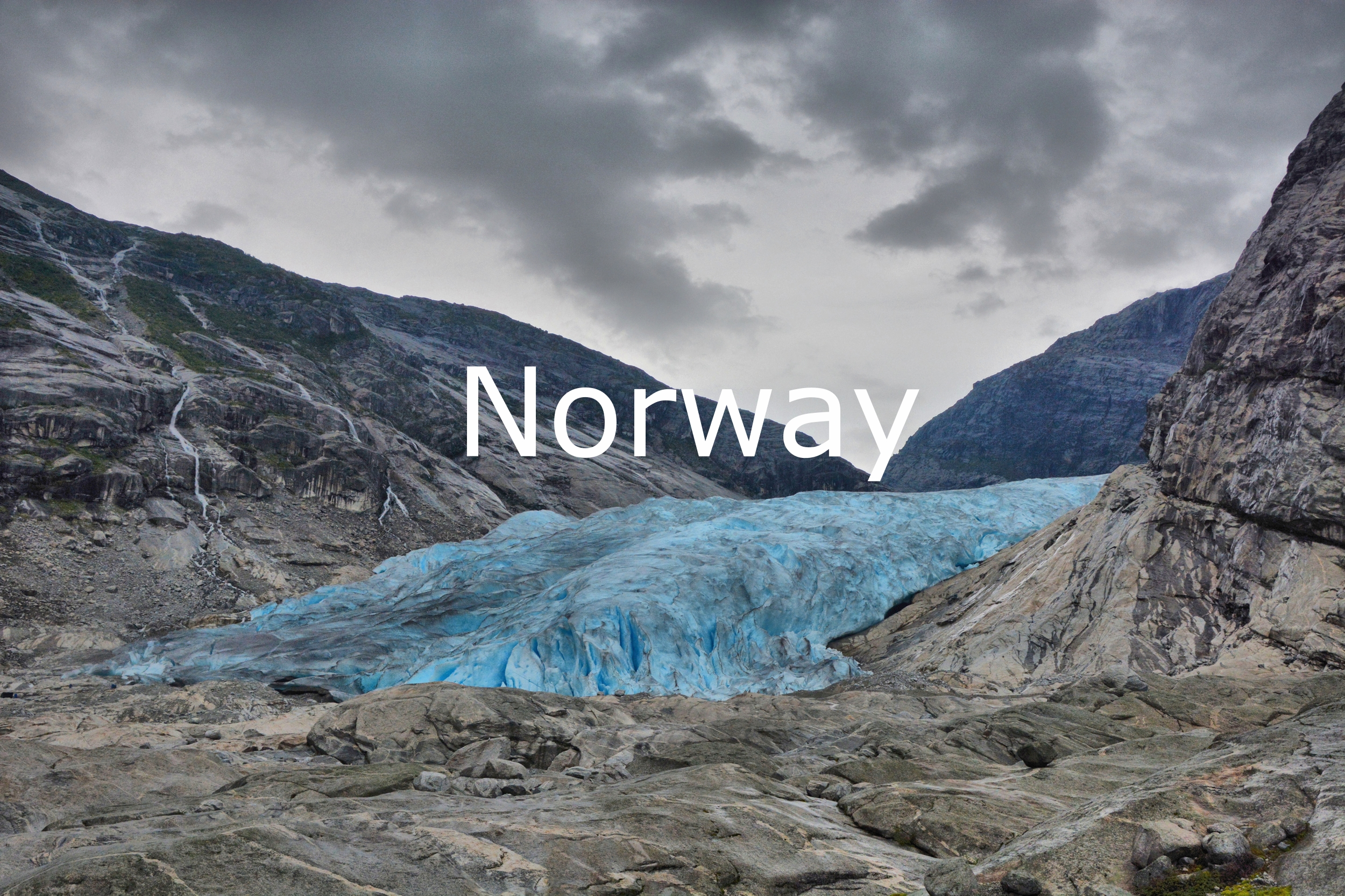 Photographs of Norway
