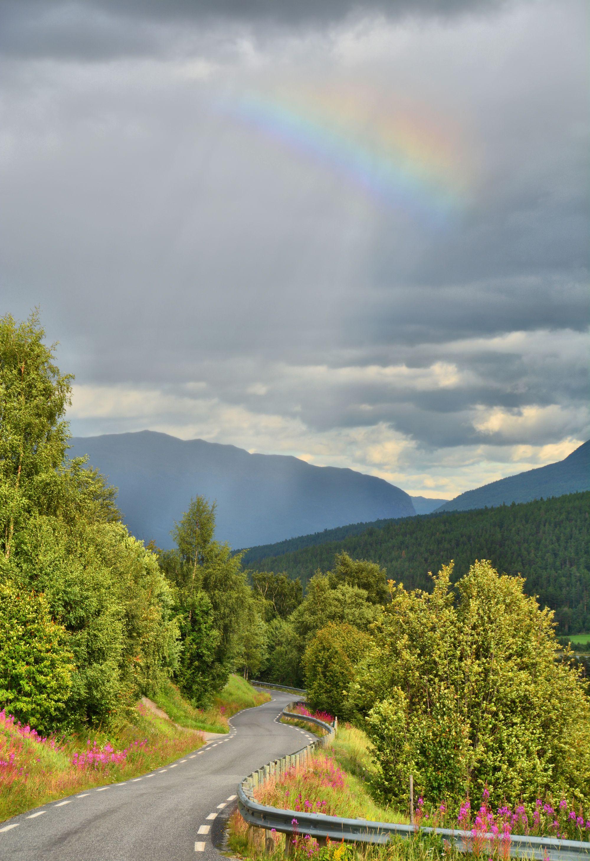 Rainbow in Mysubyttdalen