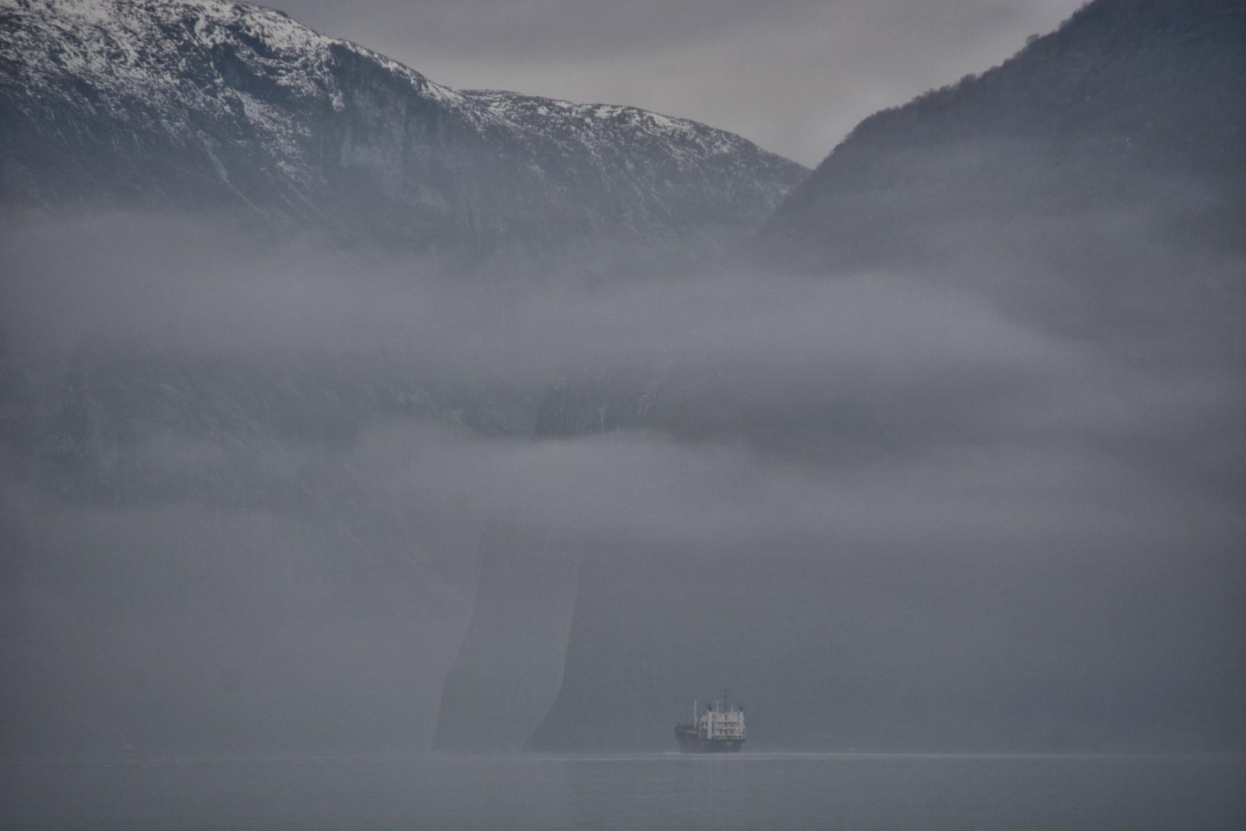 Fjord mist