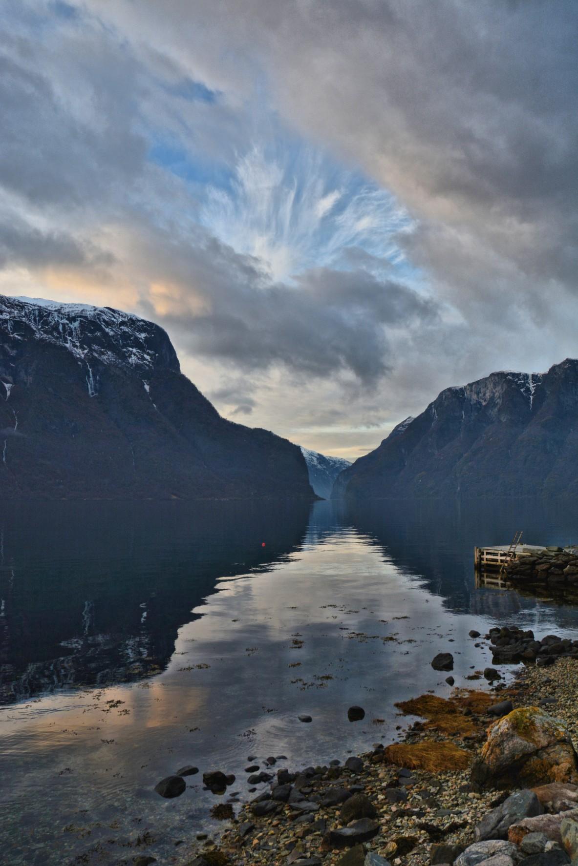 Calm Aurlandsfjord