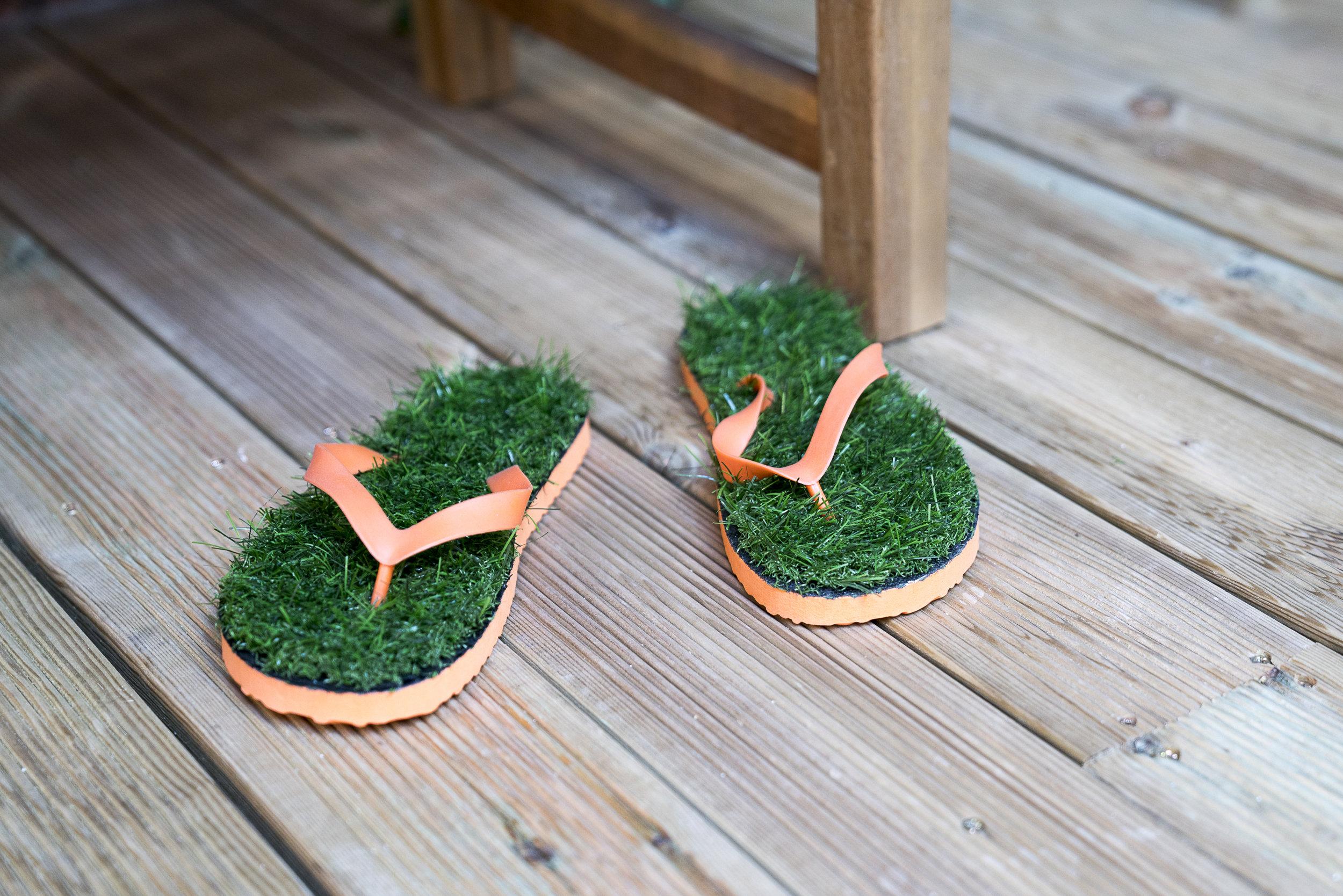 Grass flip flops.JPG