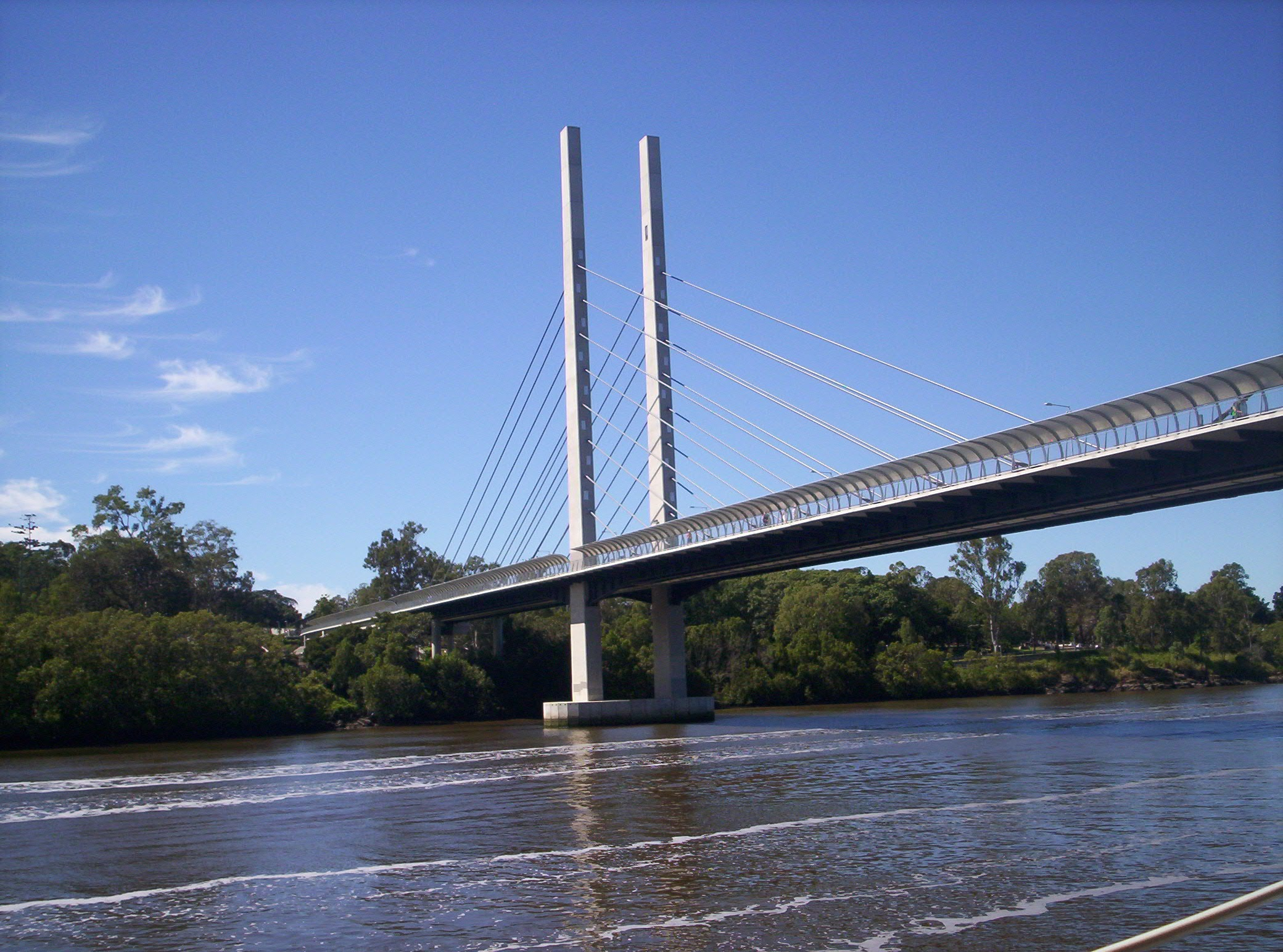 Brisbane River bridge