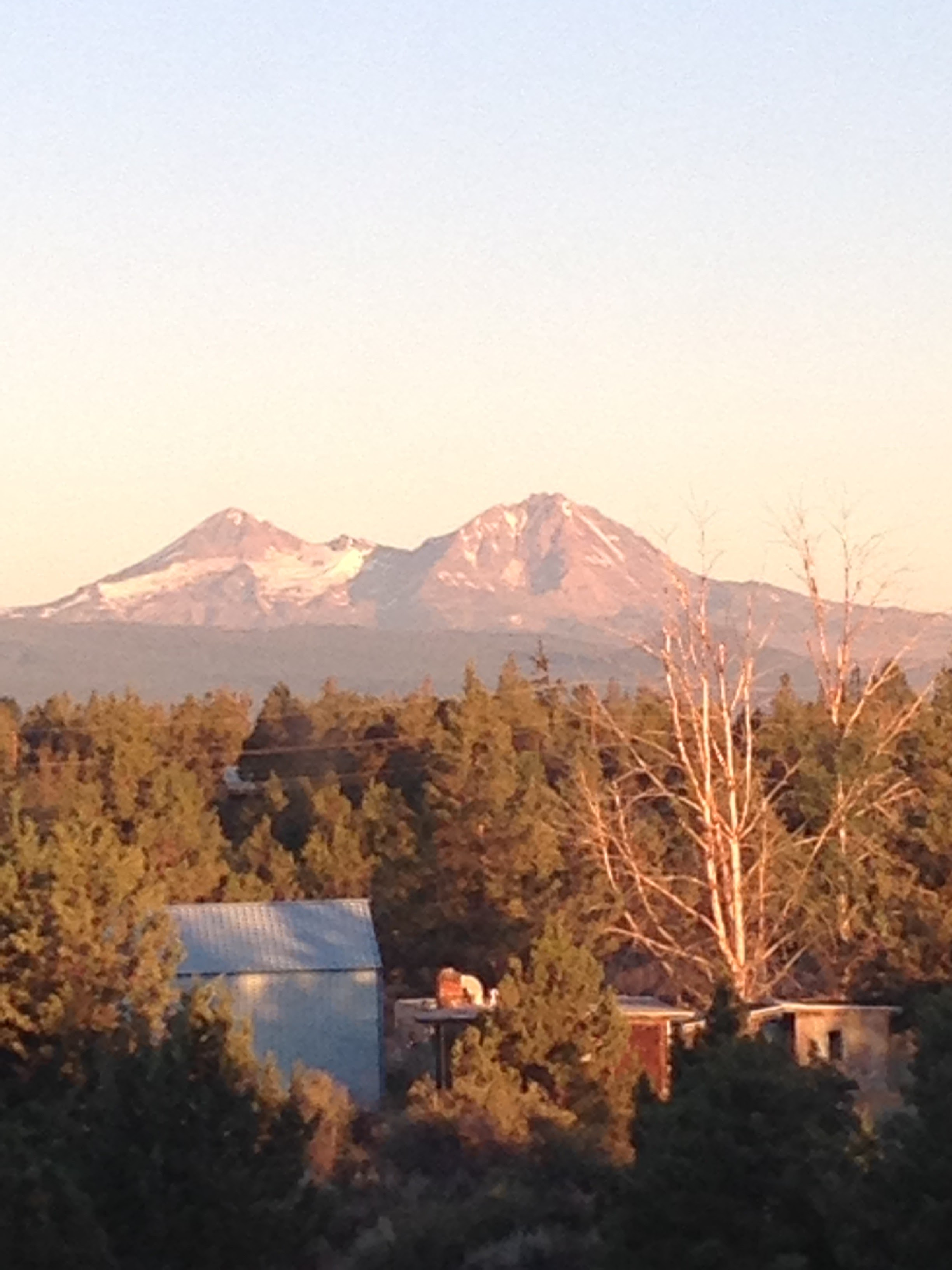Mount Bachelor from Bend, OR