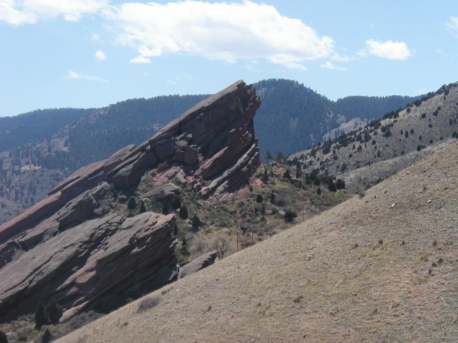 Flatirons near Boulder