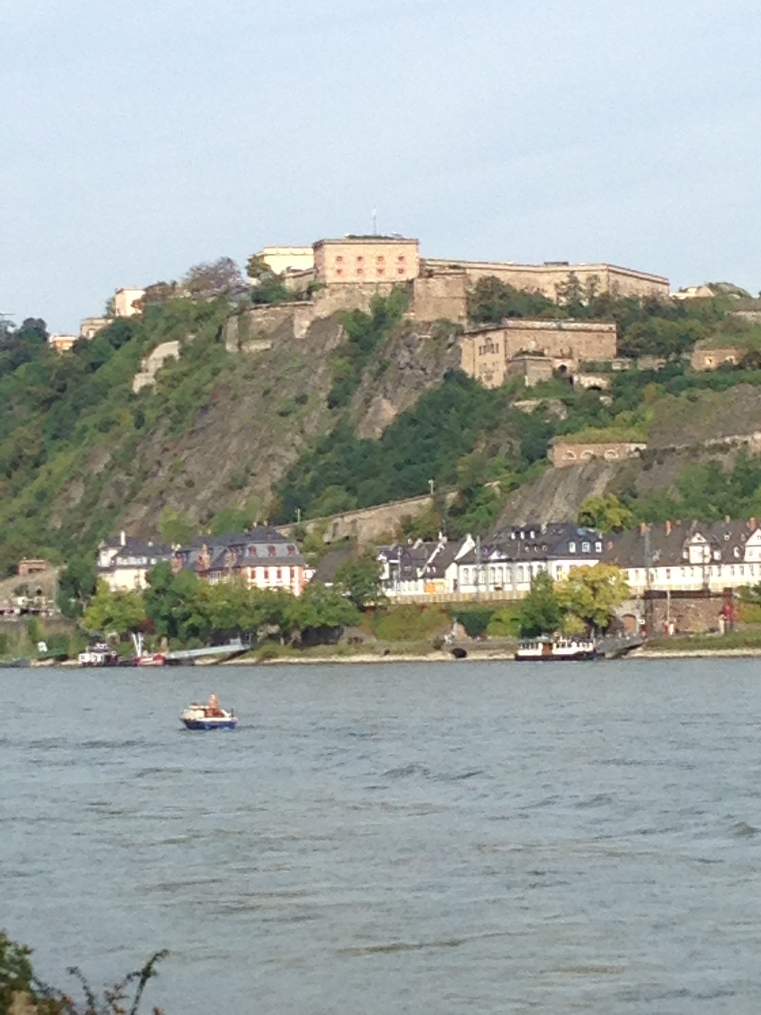 Across from Koblenz