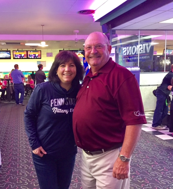 Lisa and Bob Warner, for whom the tournament is named.