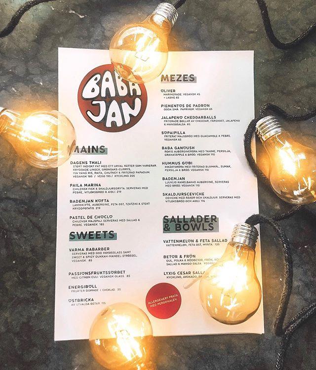 Sneak peek... 🙈 Påskhelgen (19-20/4) tar Babajan ledigt men öppnar återigen på tisdag med en sprillans ny fräsch sommarmeny! ☀️🥗 Glad påsk från oss! 🐣 #babajan #babajanbar