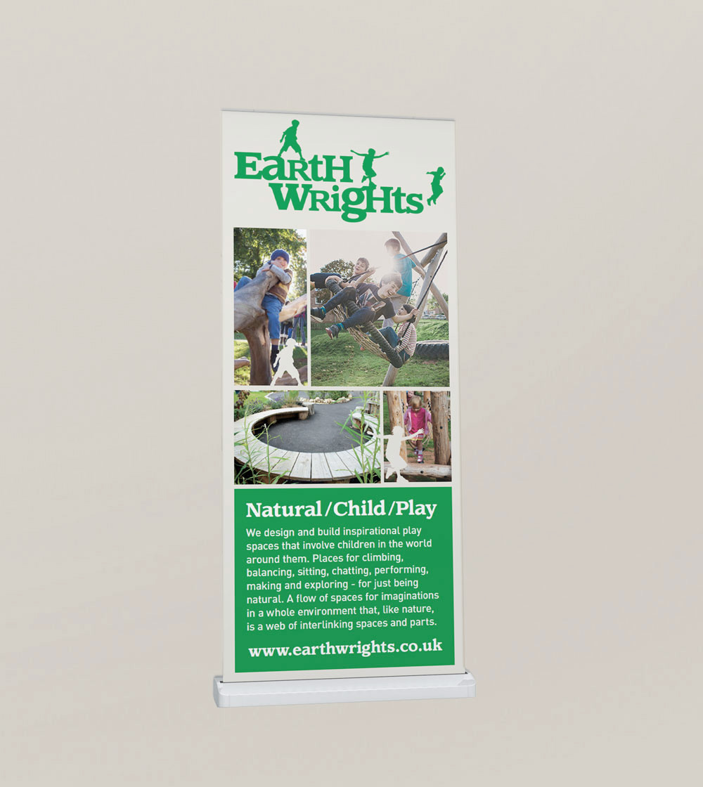 earth wrights rollup banner