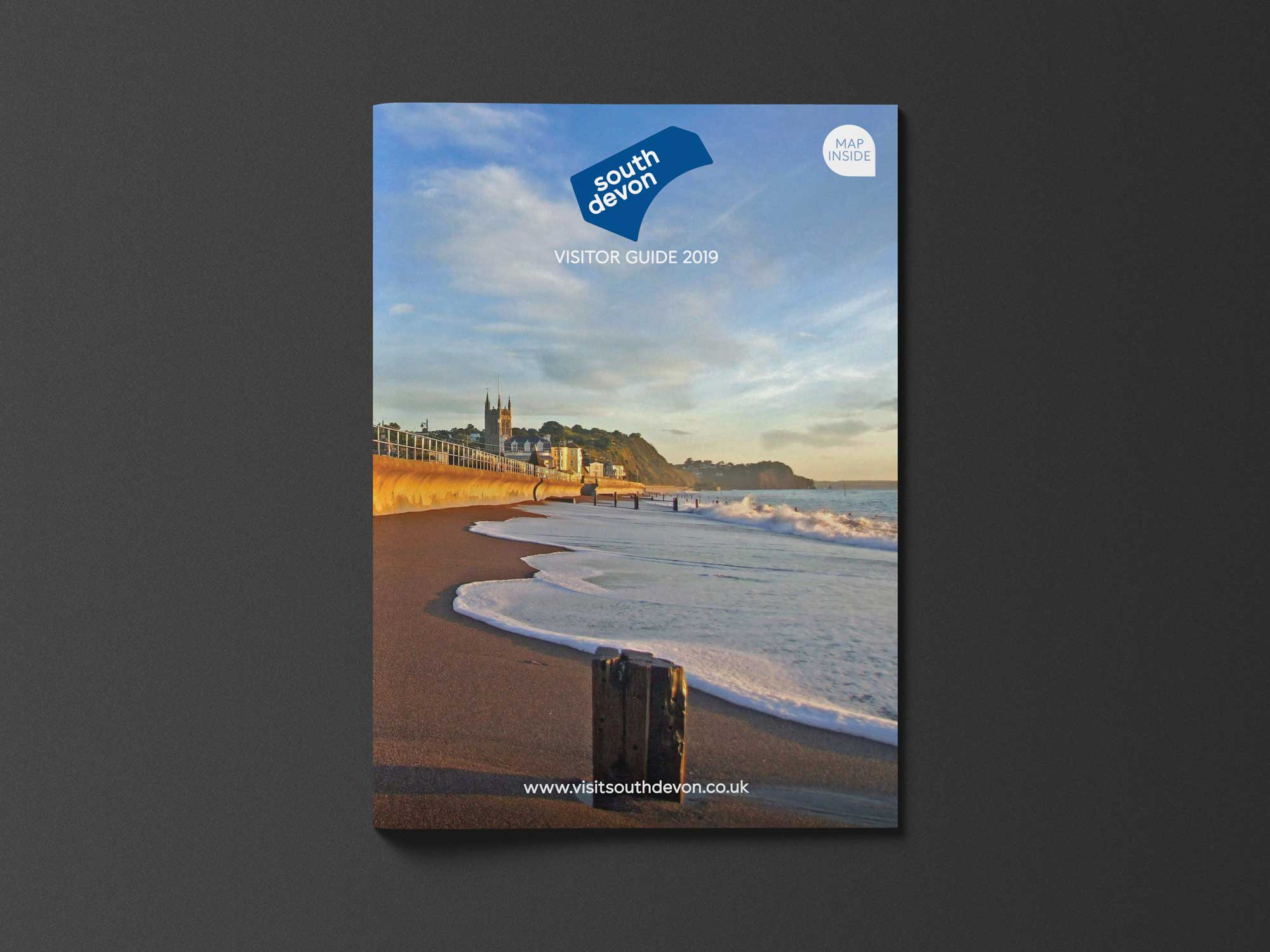 <strong>South Devon Guide</strong><p>Graphic design/ marketing / distribution</p>