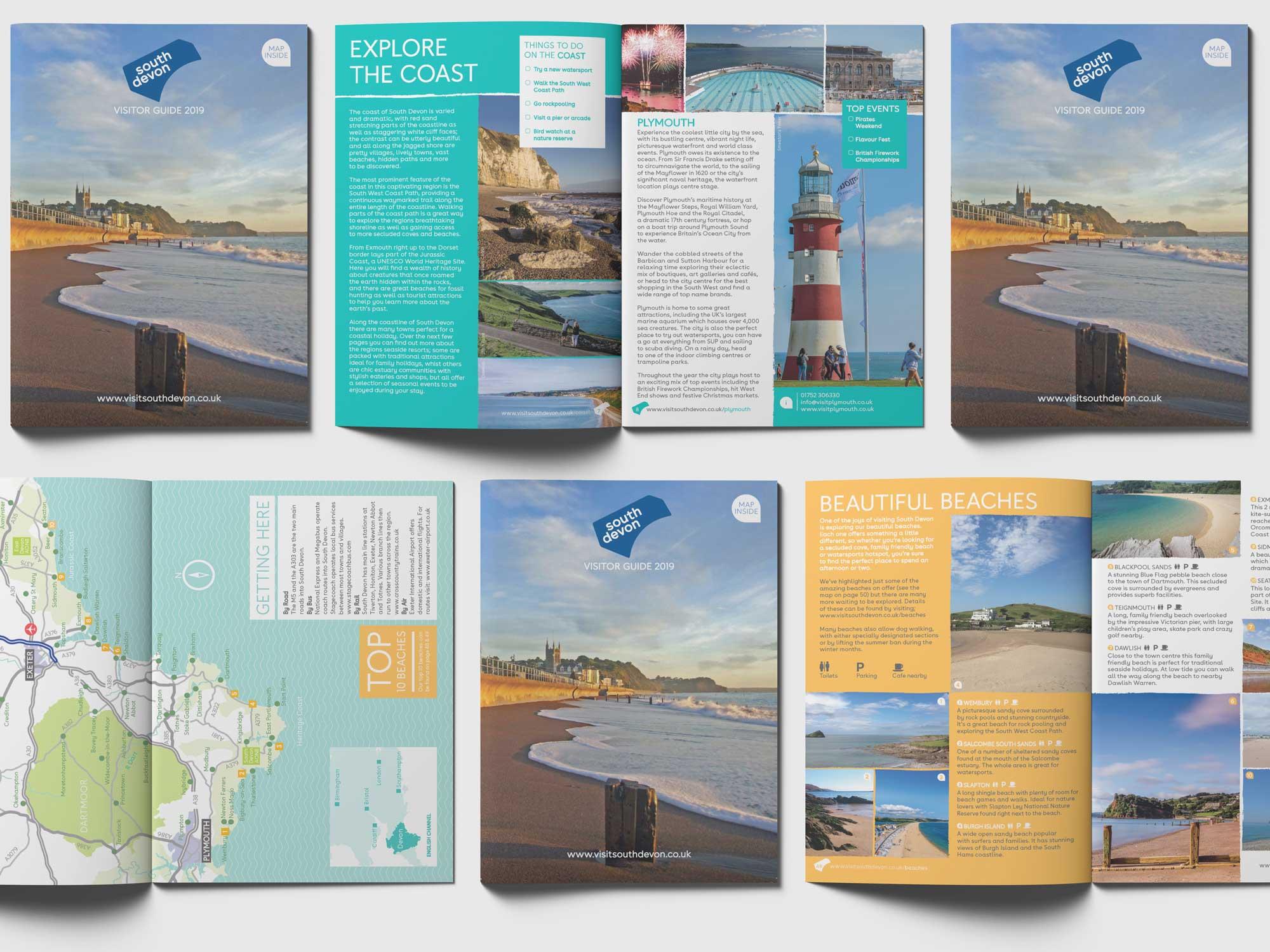 South devon guide layouts