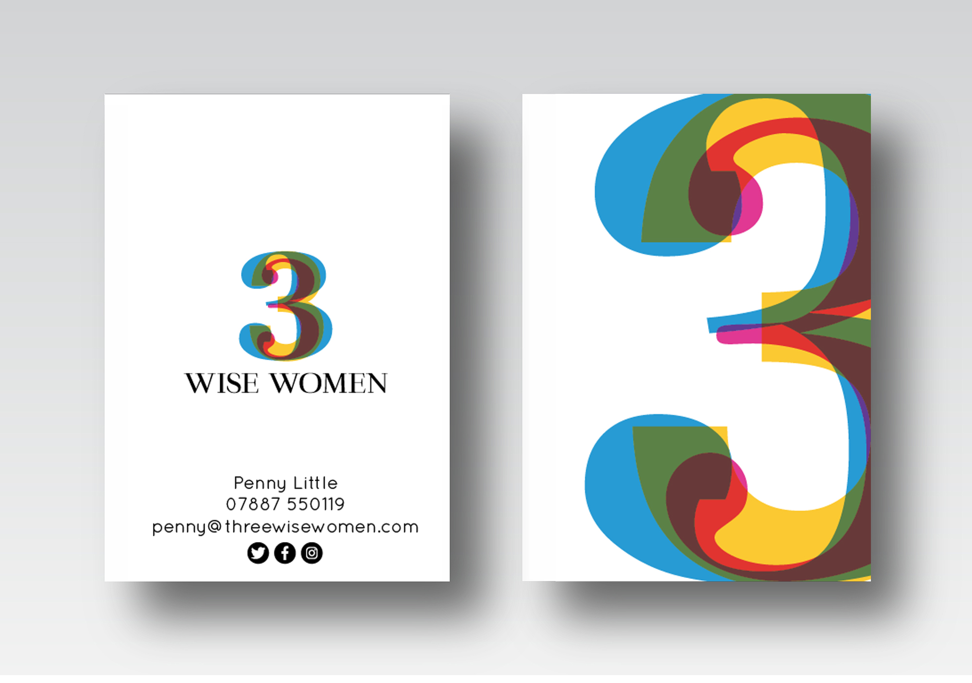 penny little business cards